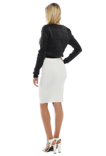 Blossom Pencil Skirt - THE OUT LANE