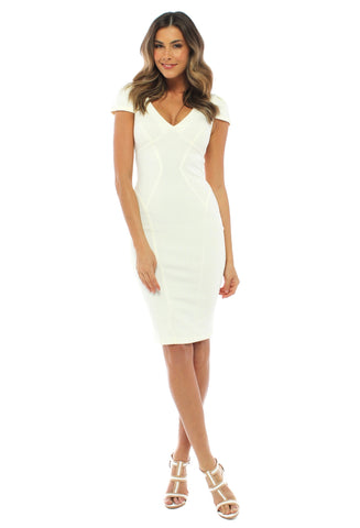 Ministry of Style White Lie Pop Dress