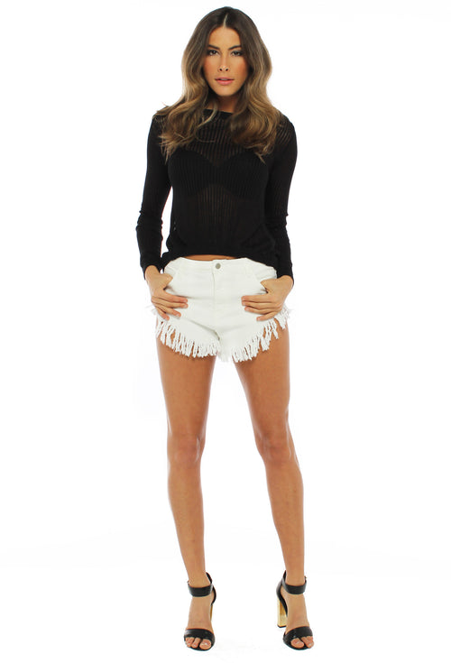 Melrose White Shorts - THE OUT LANE