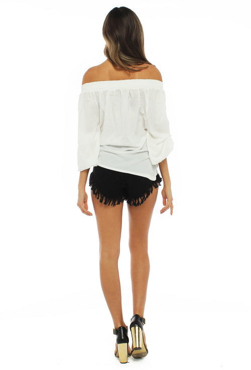 Melrose Black Shorts - THE OUT LANE