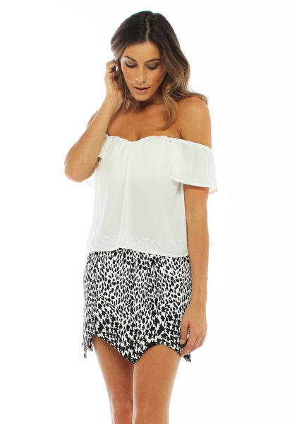 Freedom Off the Shoulder Top - THE OUT LANE