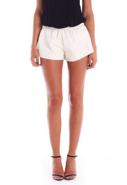 Caline Leatherette Shorts - THE OUT LANE