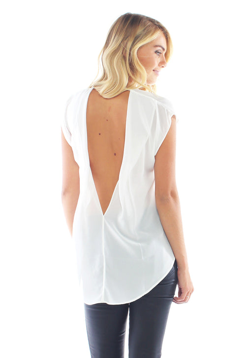Split Back Top - THE OUT LANE
