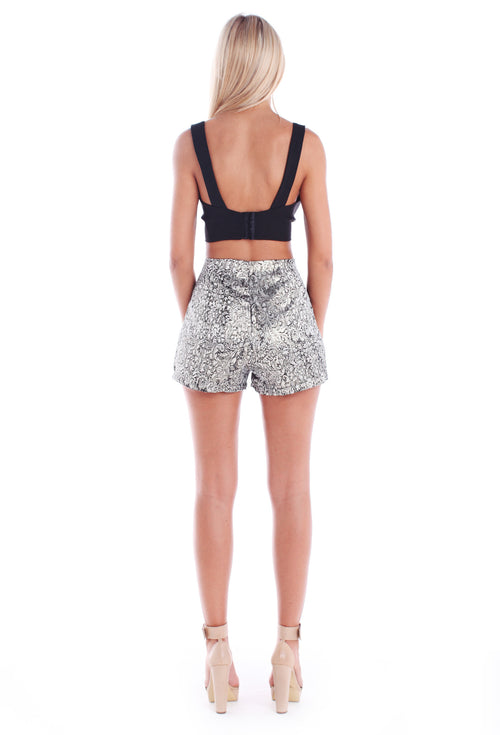 Meta Baroque Shorts - THE OUT LANE