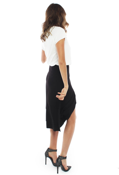 MLM Flare Midi Skirt - THE OUT LANE