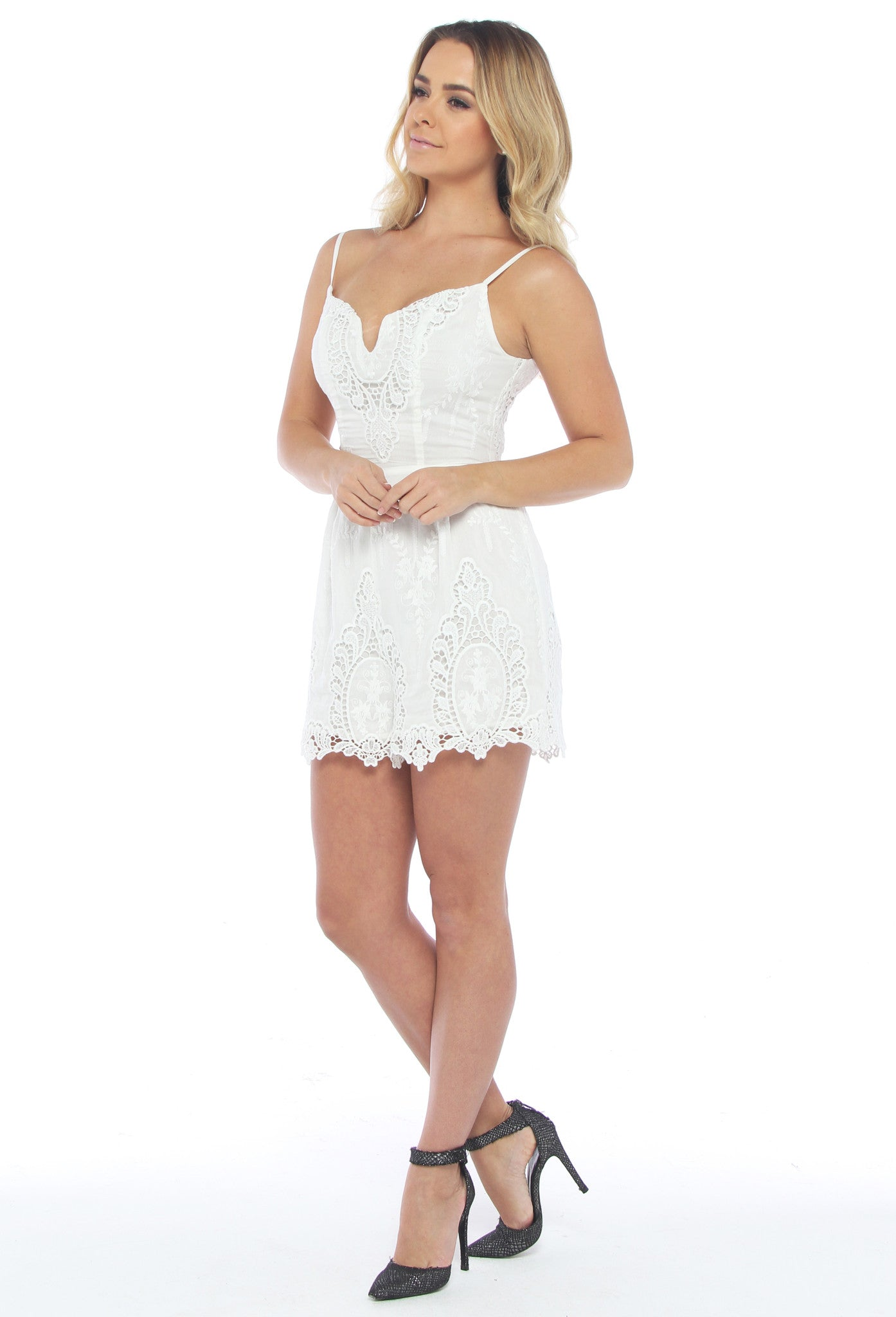 Ministry of Style Spindle Romper - THE OUT LANE