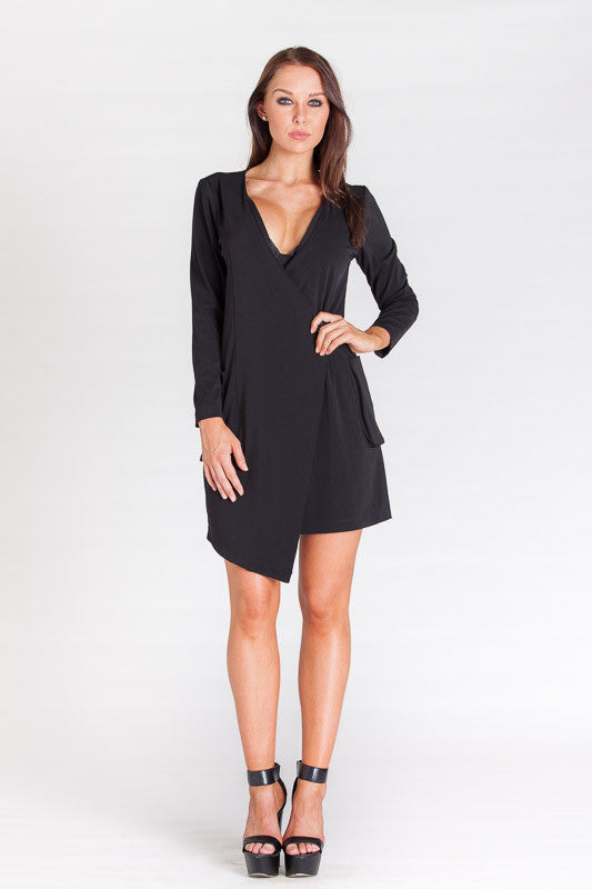 MLM Jacket Dress - Black - THE OUT LANE