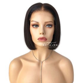 Nova Blunt Cut Bob Wig Human Hair Pre-Plucked Hairline