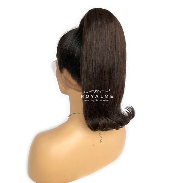 Monifa Clip In Ponytail Extension Flipped Ponytail Hairstyle