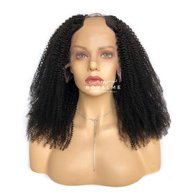 Kiara Curly Hair Wig Coily Hair U Part Wig Voluminous Natural Hair