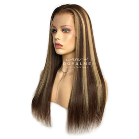 Karyn Highlighted Wig Glueless Straight Virgin Hair High Quality