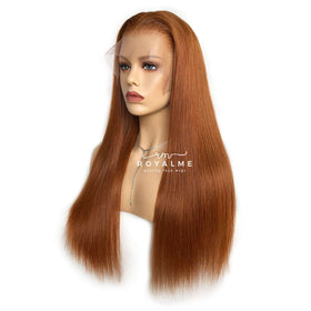Silk Straight 13x6 T Part Lace Wigs Human Hair Trendy Color