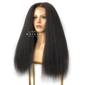 Laura Kinky Straight Wig Pre-Plucked Pre-Bleached