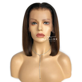 Violet 13x6 T Part Lace Front Bob Wig Human Hair