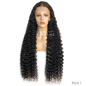 Legacy Long Black Wig 13x6 T Part Lace Wig Human Hair