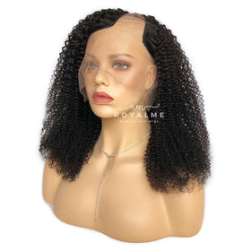 Shanice U Part Curly Wig Human Hair Natural Black Hair Color