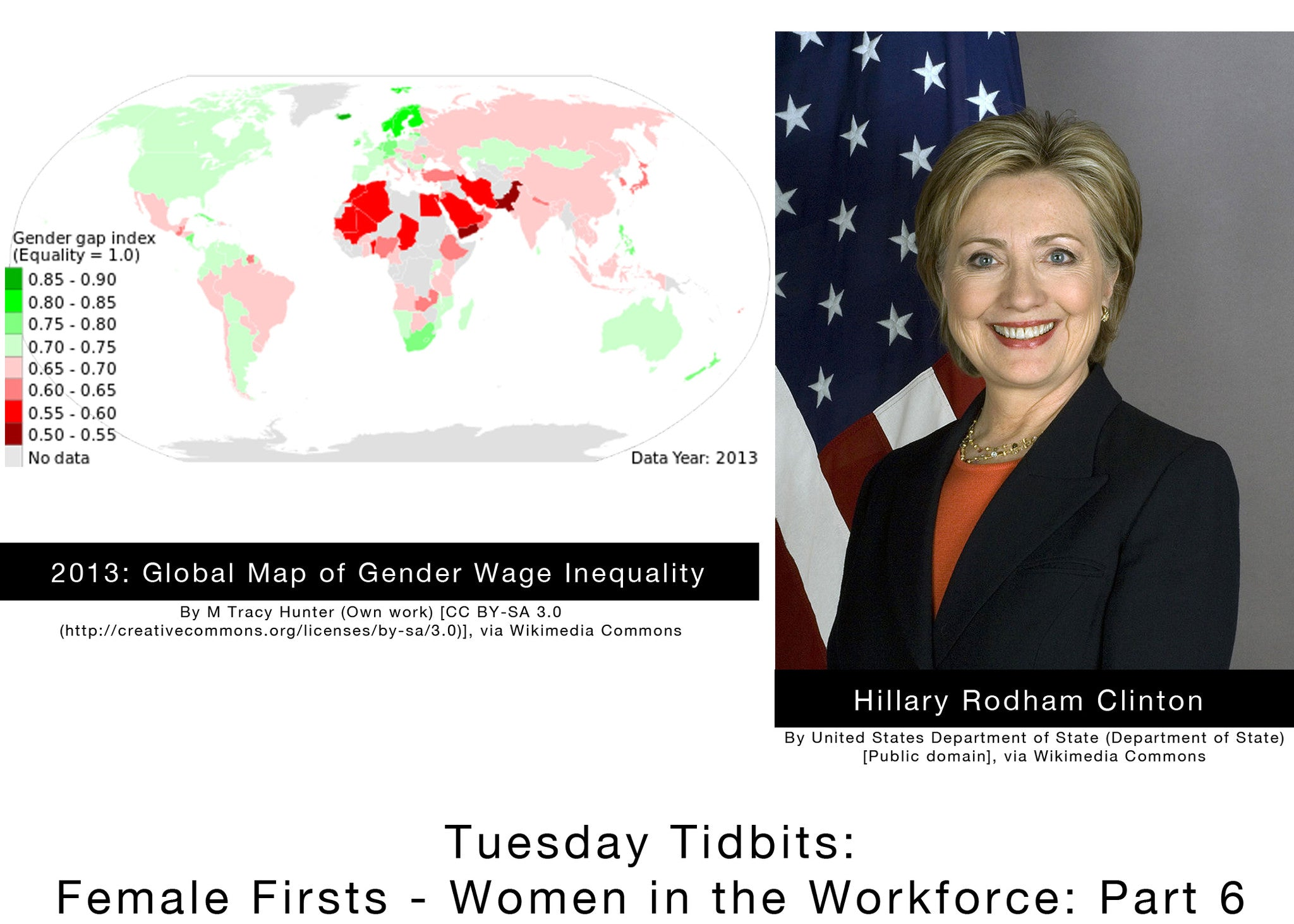 Tuesday Tidbits: Female Firsts - Women in the Workforce: Part 6