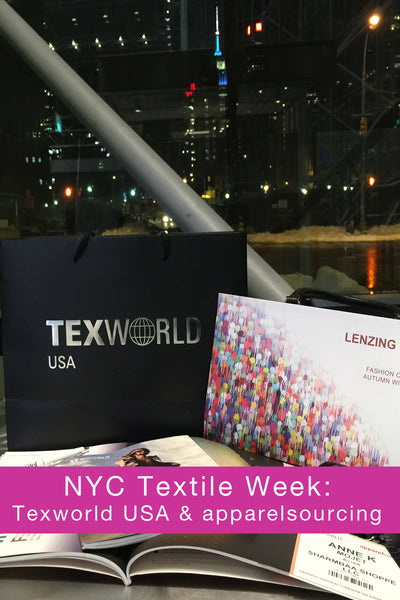 NYC Textile Week: Texworld USA and apparelsourcing January , 2016