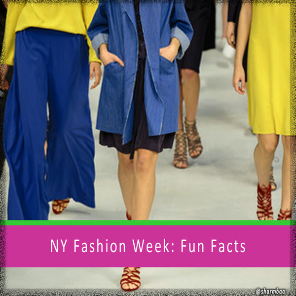 NY Fashion Week, September 2017: Fun Facts