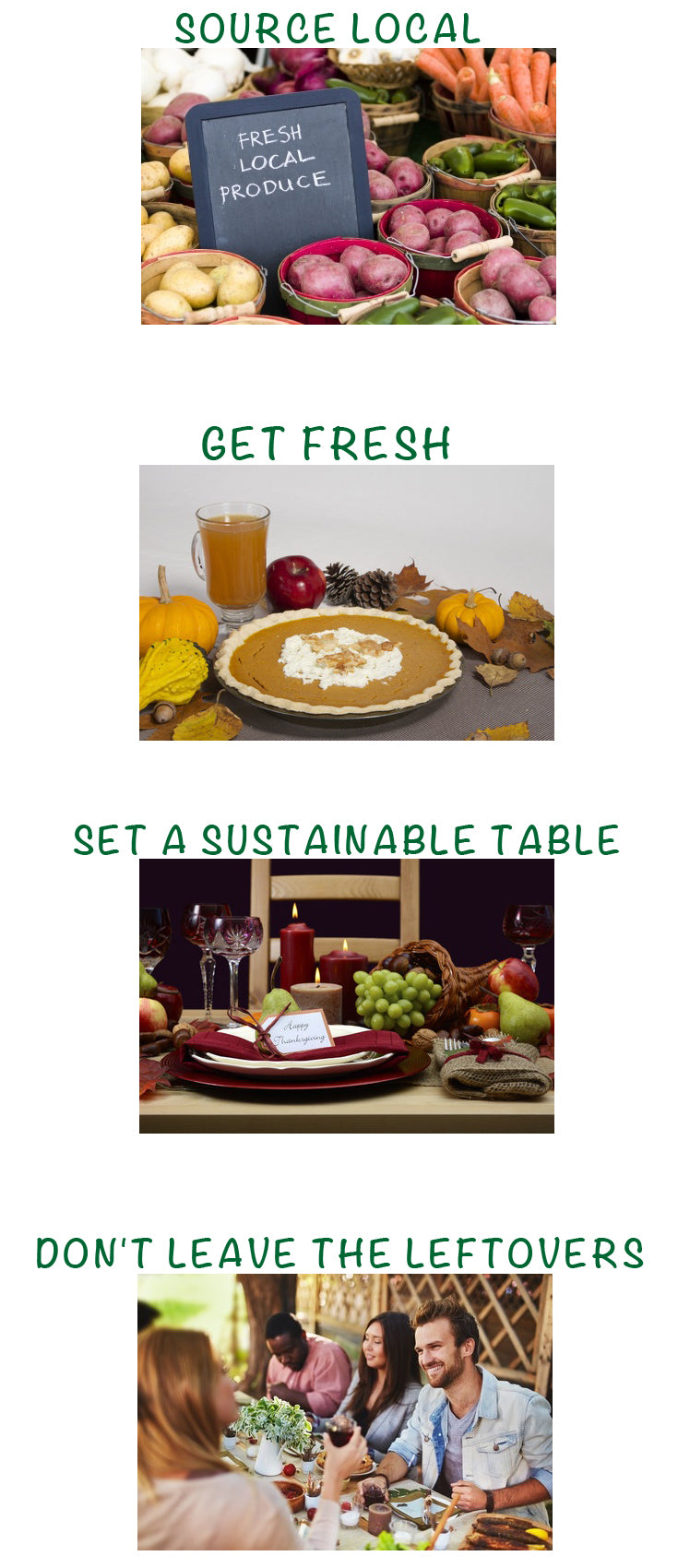 1-SOURCE LOCAL 2-GET FRESH 3-