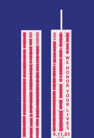 We remember, honor and pay tribute to the events of 9/11 with these 9/11 tribute towers, created in 2011 by ak mojet