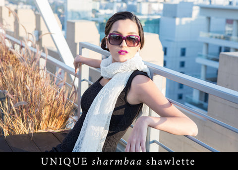 UNIQUE sharmbaa shawlette
