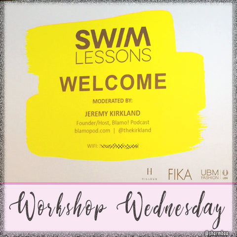 Workshop Wednesday   SWIMLESSONS by UMBFashion Part 1 sharmbaa blog