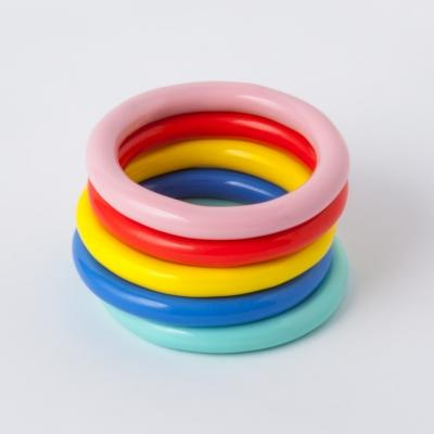 """Color Ring"", Blue, Smykker LULU Copenhagen"
