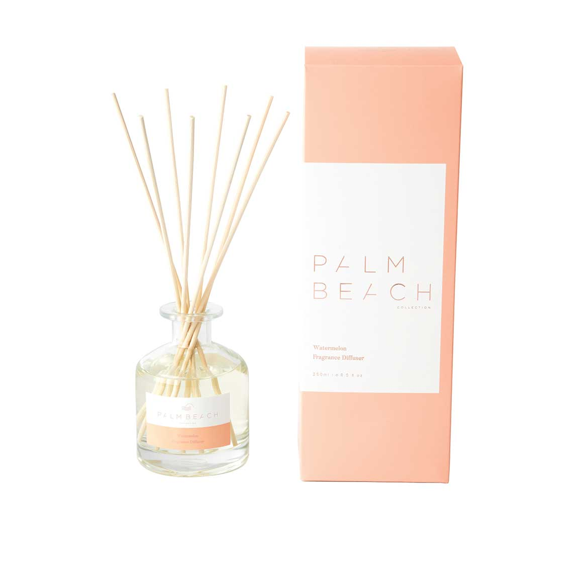 Palm Beach Collection | Watermelon 250ml Fragrance Diffuser | Salt & Sand Women's Clothing & Accessories Inverloch