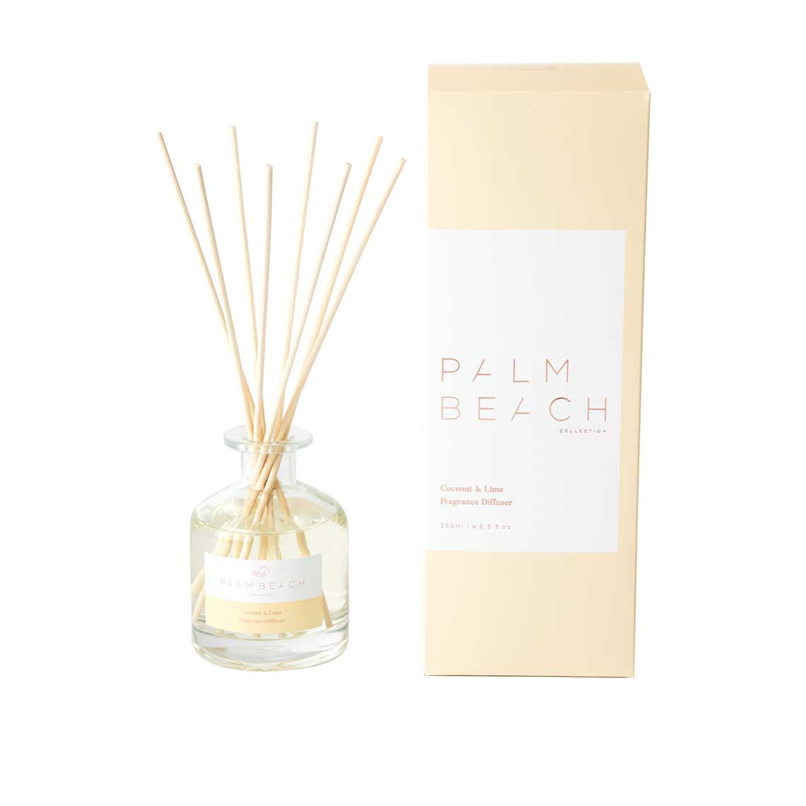 Palm Beach Collection | Coconut & Lime 250ml Fragrance Diffuser | Salt & Sand Women's Clothing & Accessories Inverloch