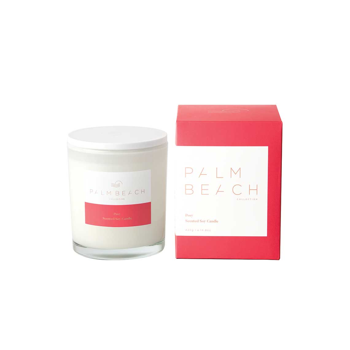 Palm Beach Collection | Posy 420g Candle | Salt & Sand Women's Clothing & Accessories Inverloch