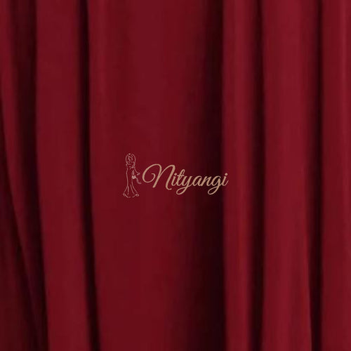 Chiffon Swatches (Classic Collection - Chiffon Bridesmaid Gowns) Burgundy Infinity Wear