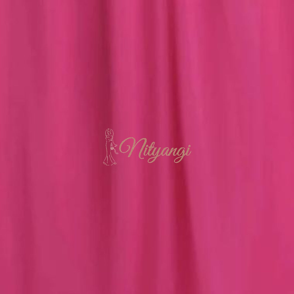 Chiffon Swatches (Classic Collection - Chiffon Bridesmaid Gowns) Hot Pink Infinity Wear