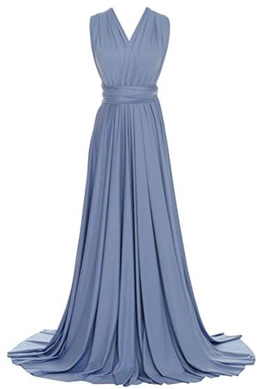 Blue Bell convertible Infinity bridesmaid dress