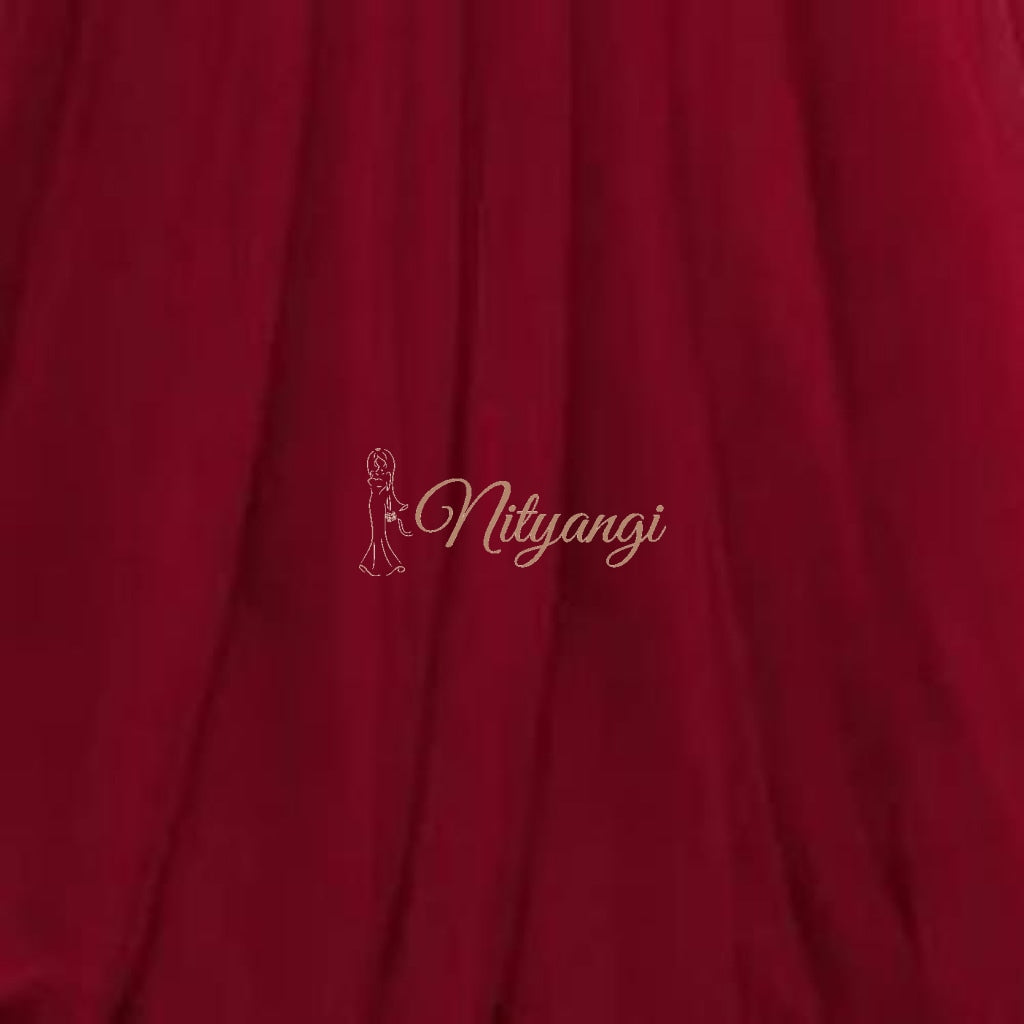 Tulle Swatches (Classic Collection - Tulle Bridesmaid Gowns) Burgundy Accessories