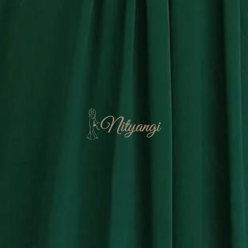 Chiffon Swatches (Classic Collection - Chiffon Bridesmaid Gowns) Emerald Infinity Wear