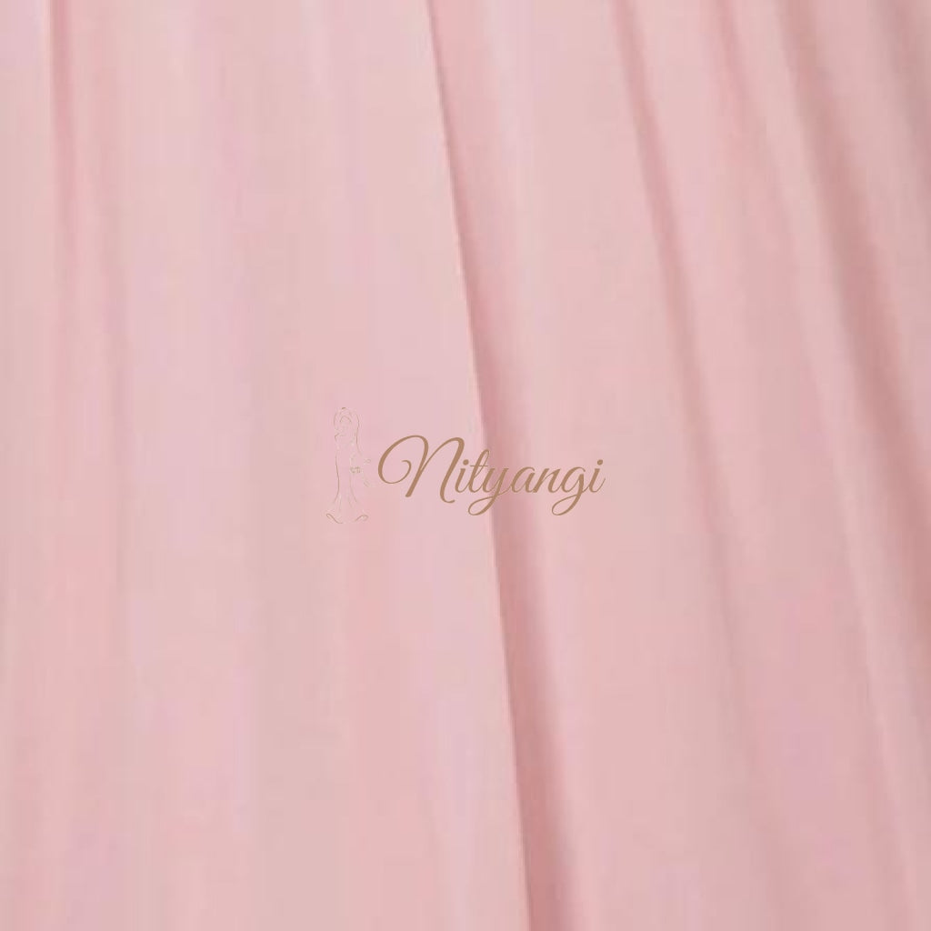 Chiffon Swatches (Classic Collection - Chiffon Bridesmaid Gowns) Light Pink Infinity Wear