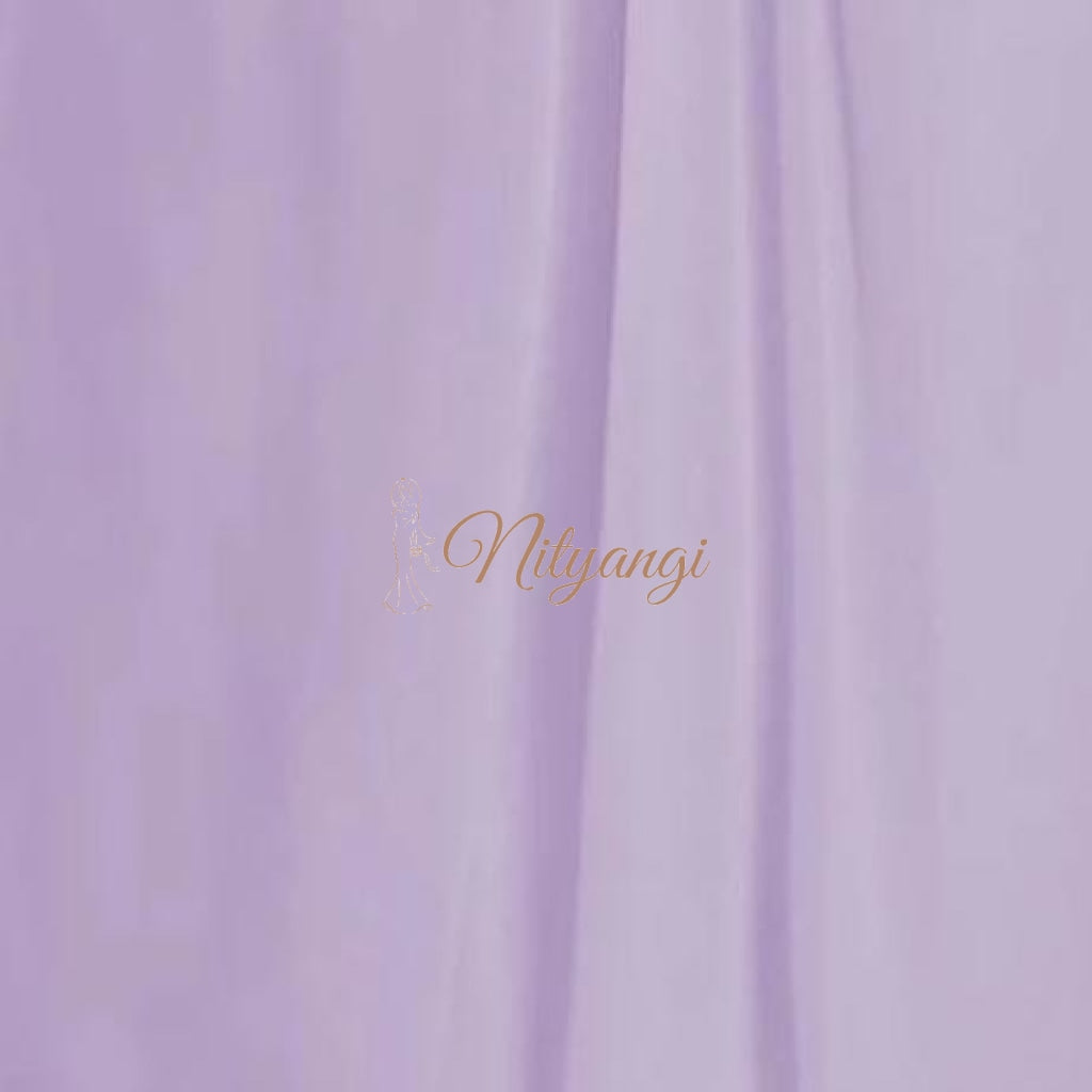 Chiffon Swatches (Classic Collection - Chiffon Bridesmaid Gowns) Lilac Infinity Wear