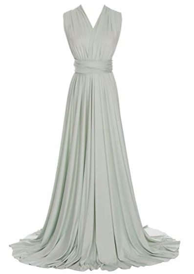 Green Lily convertible Infinity bridesmaid dress