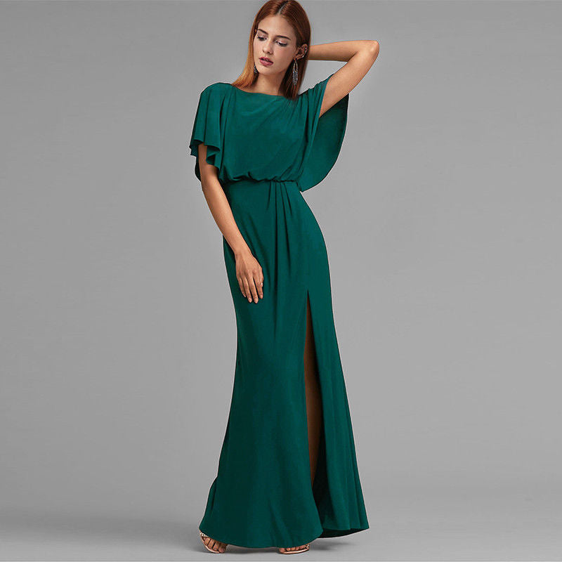 Ball Dress-Teal-6-8-Nityangi
