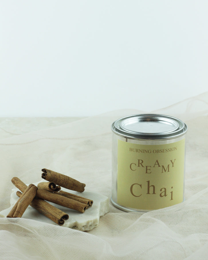 Creamy Chai-Essential-Oil-Soy-Candle-Wooden-Wick-Candle