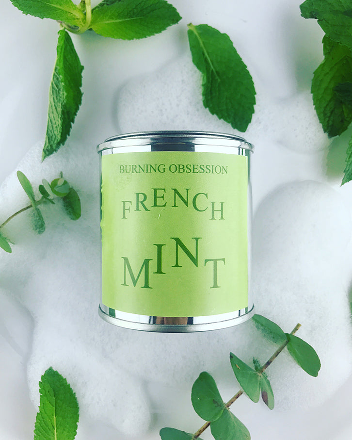 French Mint-Essential-Oil-Soy-Candle-Wooden-Wick-Candle