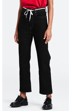 "The ""BLACK HEART"" Ribcage Straight Fit Jeans 