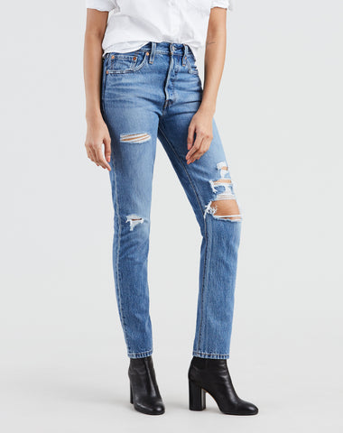 "The ""HATERS GONNA HATE"" Ribcage High Rise Jeans 