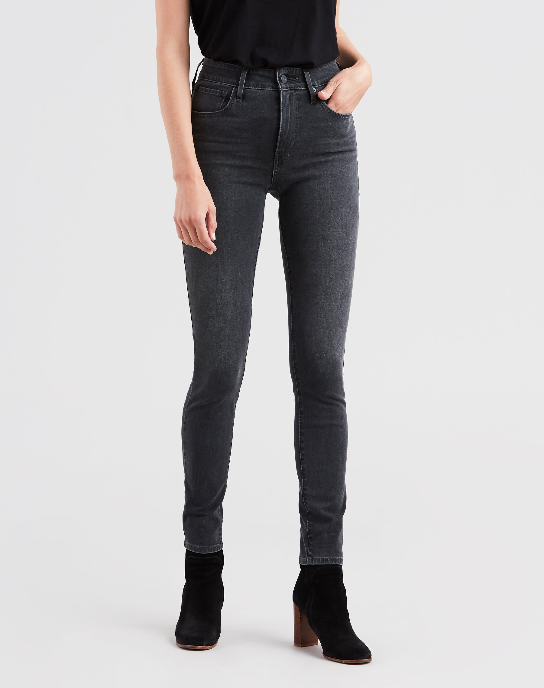 "The ""CALIFORNIA REBEL"" 721 High Rise Skinny 