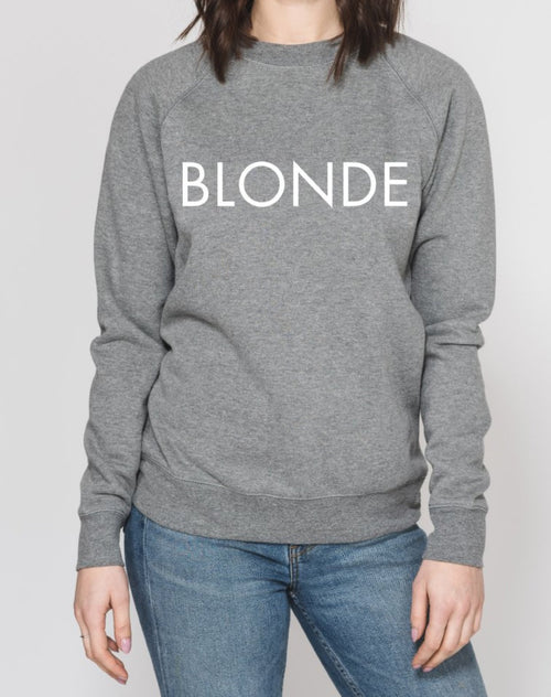 """BLONDE"" Crew 
