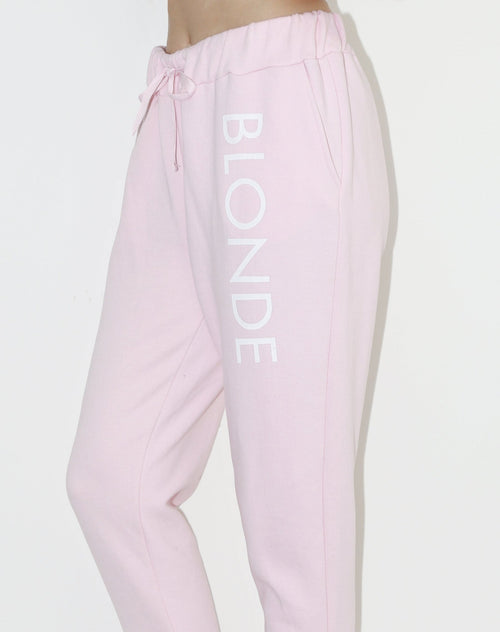 "The ""BLONDE"" Printed Joggers 