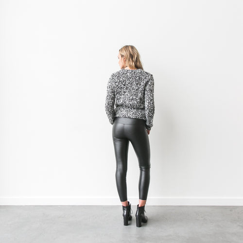 "The ""Chelsea"" Vegan Leather Legging 