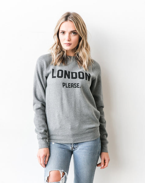 The Please Crew - LONDON PLEASE | HEATHER GREY