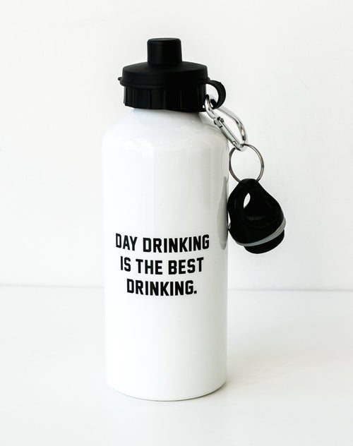 "The ""Day Drinking is the Best Drinking"" Water Bottle"
